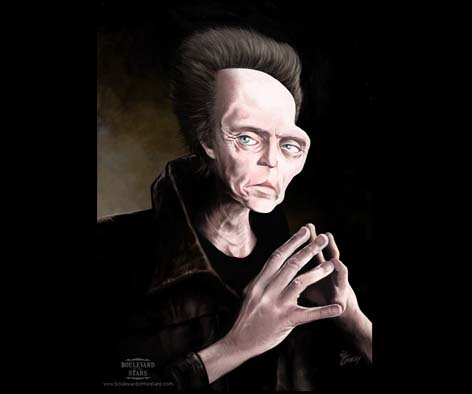 christopher walken Caricaturas de Famosos
