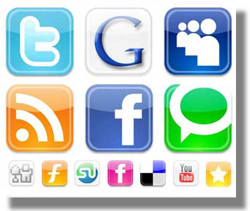 Entre ellas tenemos facebook hi5 myspace sonico entre otras