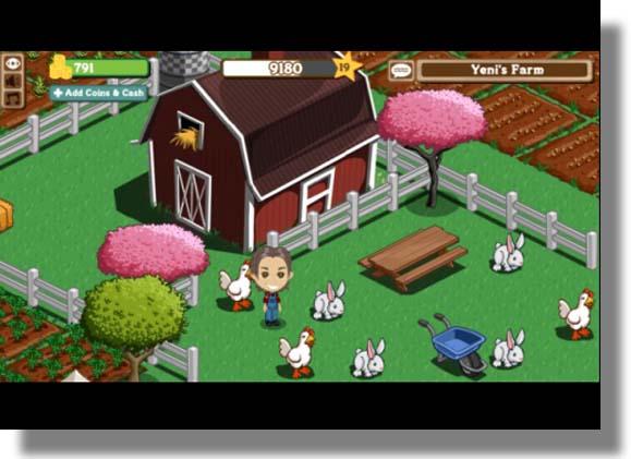 Farmville es el Juego más Popular en Facebook