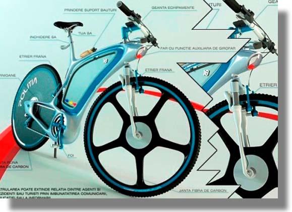 La Futura Bicicleta Policial