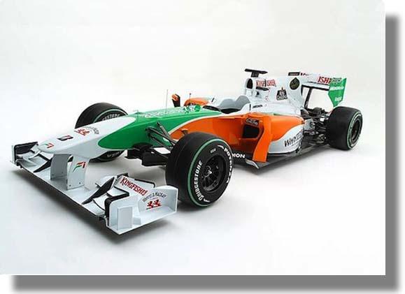 Nuevo Auto del Equipo Force India de Formula 1