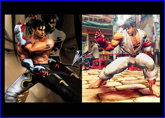 street fighter y tekken