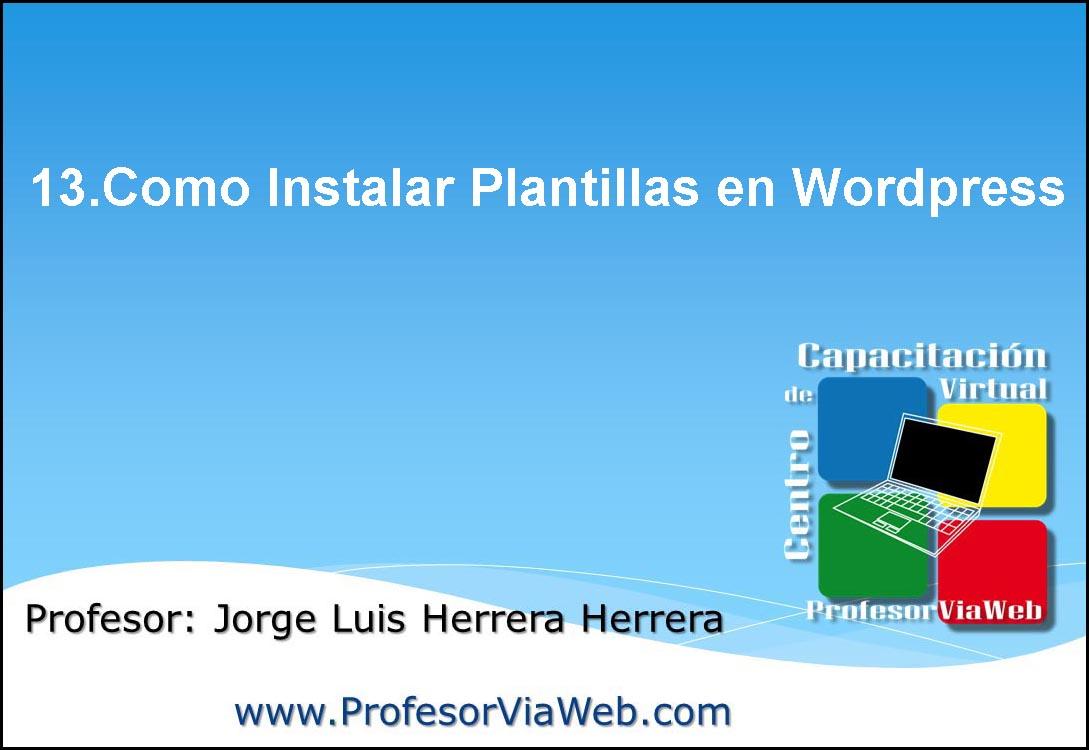 plantilla para blog