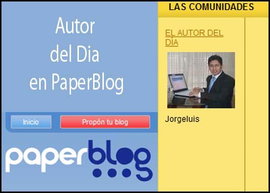 Seleccionado Como Autor del día por Paperblog