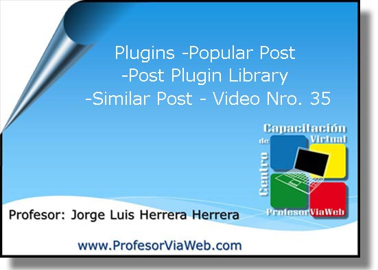 Plugins en wordpress