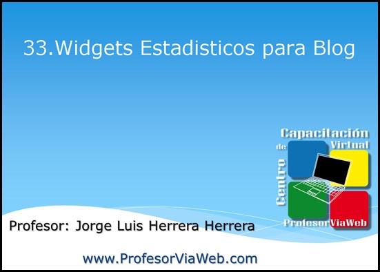 widgets para blog