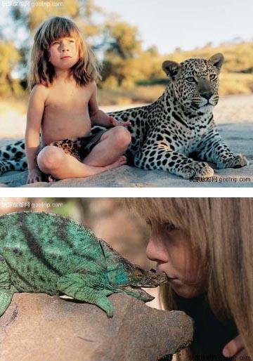tippi niña de la selva