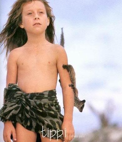 ttipi niña de la selva