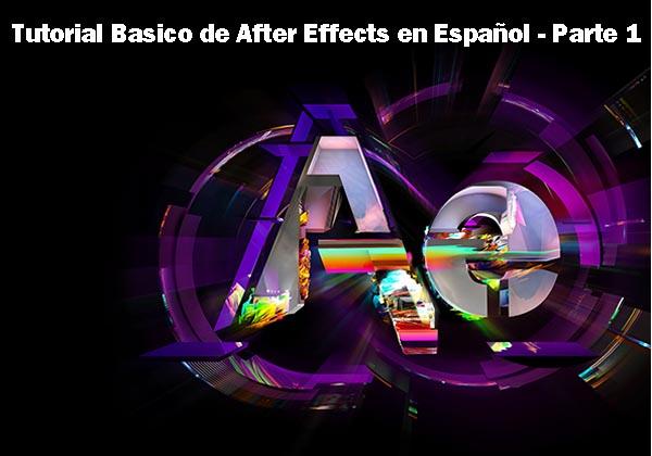 Tutorial Basico de After Effects en Español – Parte 1 – Introducción