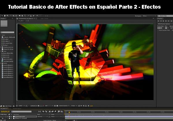 Tutorial Basico de After Effects en Español Parte 2 - Efectos