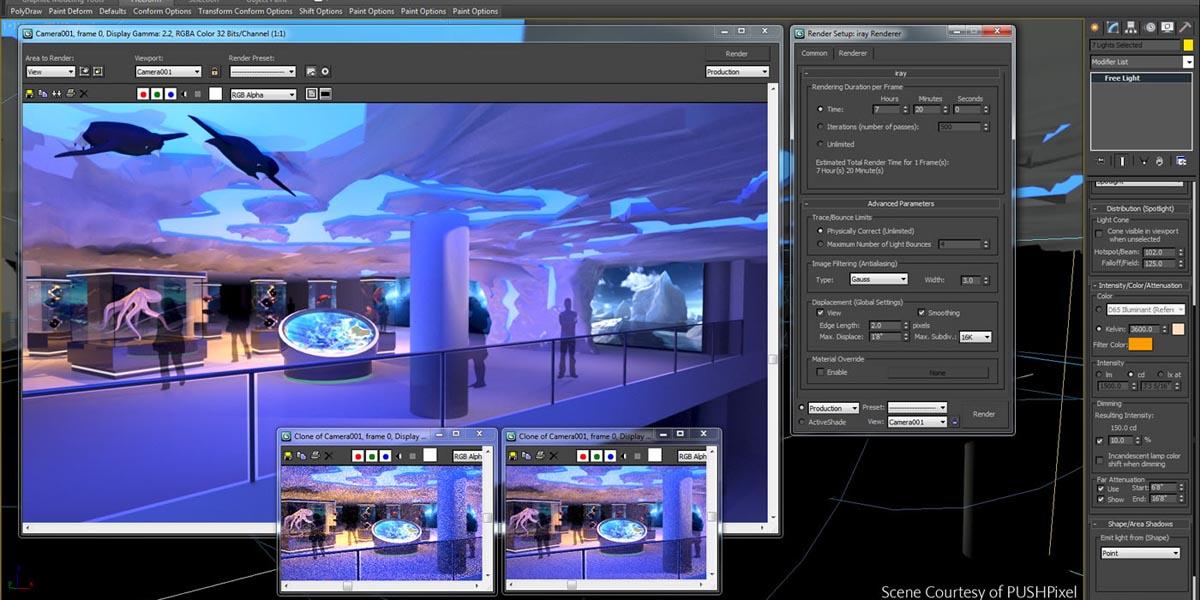 Introducción a 3ds Max - Configuración y Manejo del Área de Trabajo - Parte 2