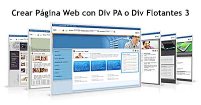 Crear Página Web con Div PA o Div Flotantes 3