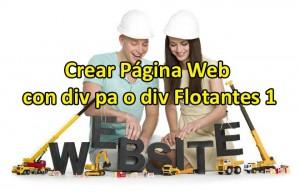 Crear Página Web con Div PA o Div Flotantes 1