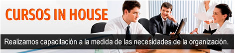 Cursos In house, Cursos Disponibles, Cursos a Empresas