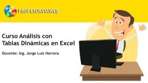 Curso Análisis con Tablas Dinámicas en Excel
