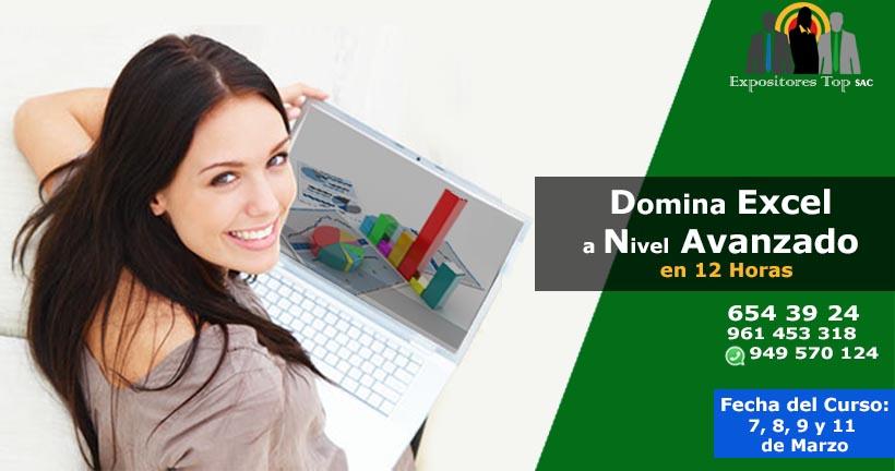 Domina el Excel a Nivel Avanzado