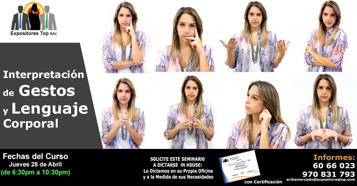 como interpretar gestos y lenguaje corporal