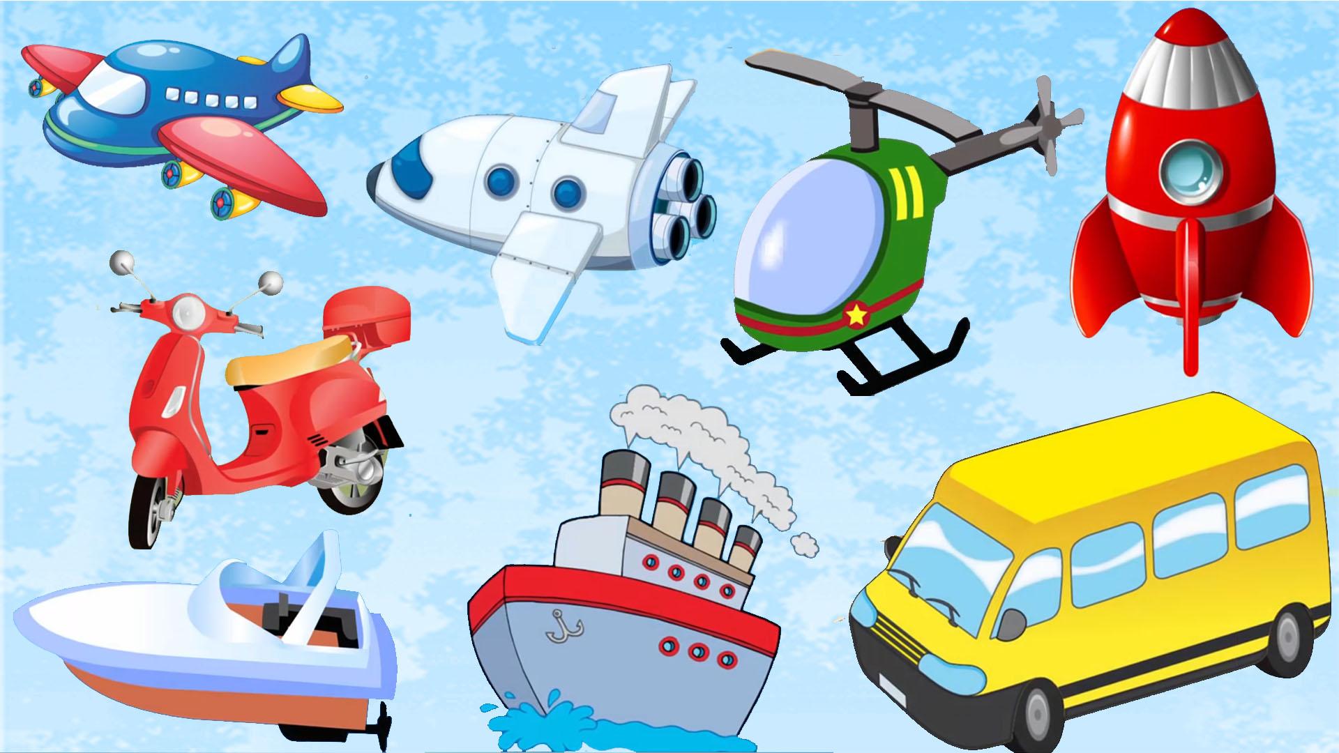 Videos Para Niños Transportes Videos Infantiles Dibujos para ...