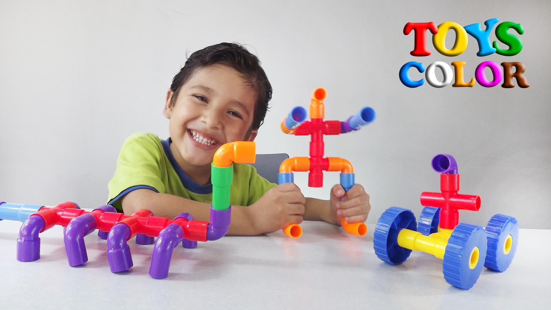 Aprender Jugando con Piezas de Colores, Aprende Jugando Niños, Aprender Colores Jugando, ToysColor