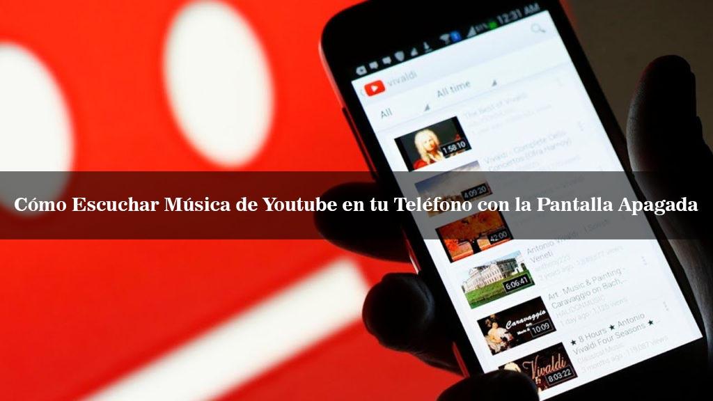 escuchar musica gratis en youtube