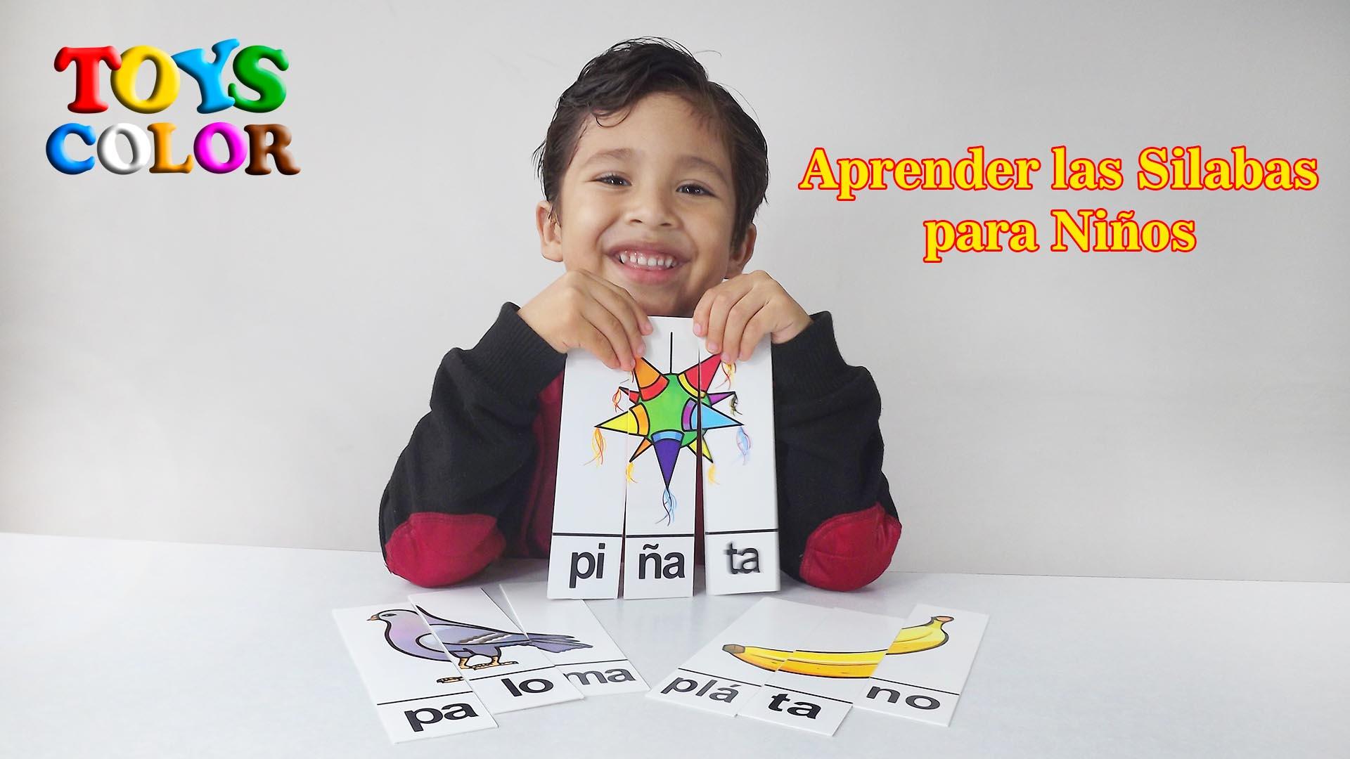 Como Aprender las Silabas para Niños Aprende las Silabas para Niños Aprender Jugando Aprende Jugando