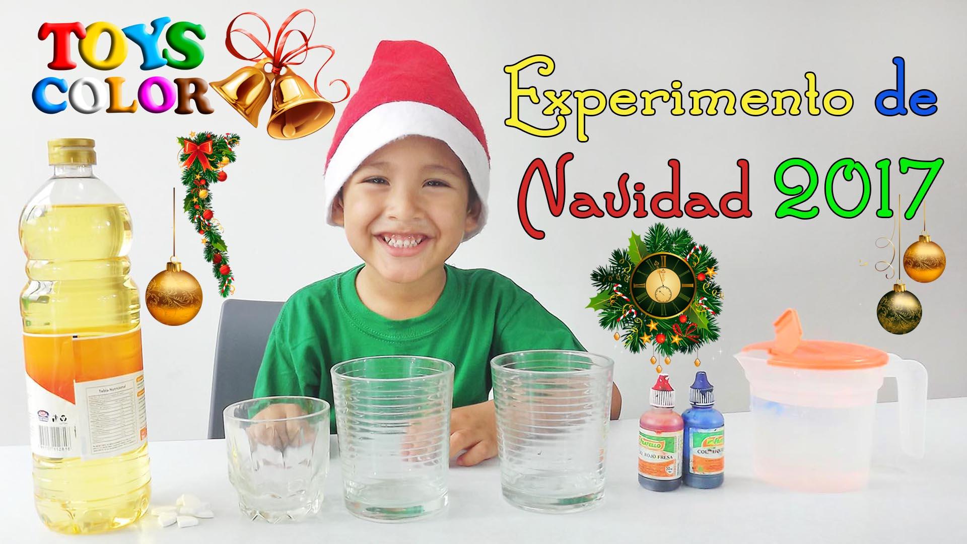 Experimento Para Hacer en Navidad, Experimentos de Navidad Para Niños, Experimentos de ciencia niños