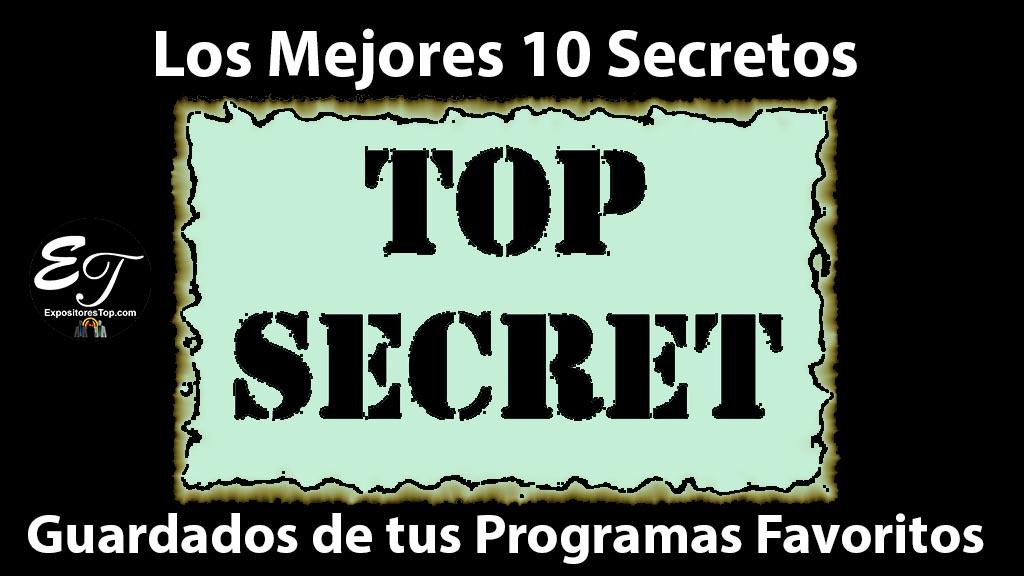 Los Mejores 10 Secretos Guardados de tus Programas Favoritos