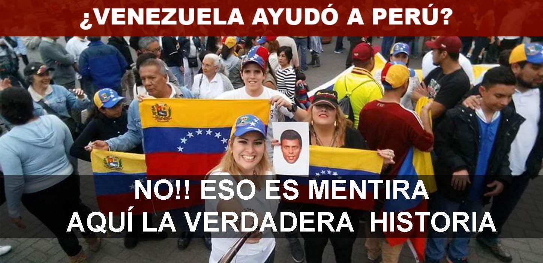 VENEZUELA AYUDÓ A PERÚ