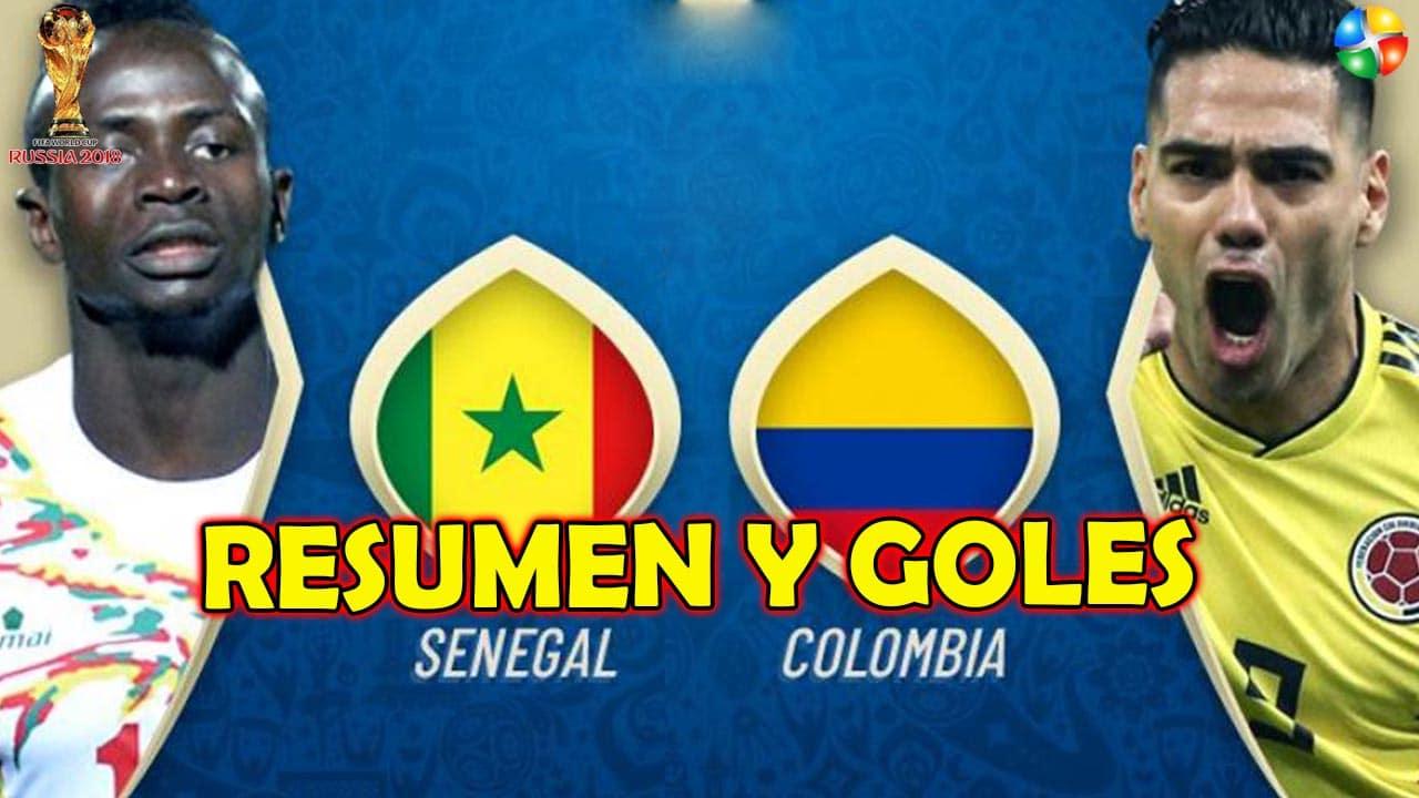 RESUMEN COLOMBIA VS SENEGAL, TODOS LOS GOLES DE COLOMBIA VS SENEGAL, ÚLTIMO PARTIDO DE COLOMBIA