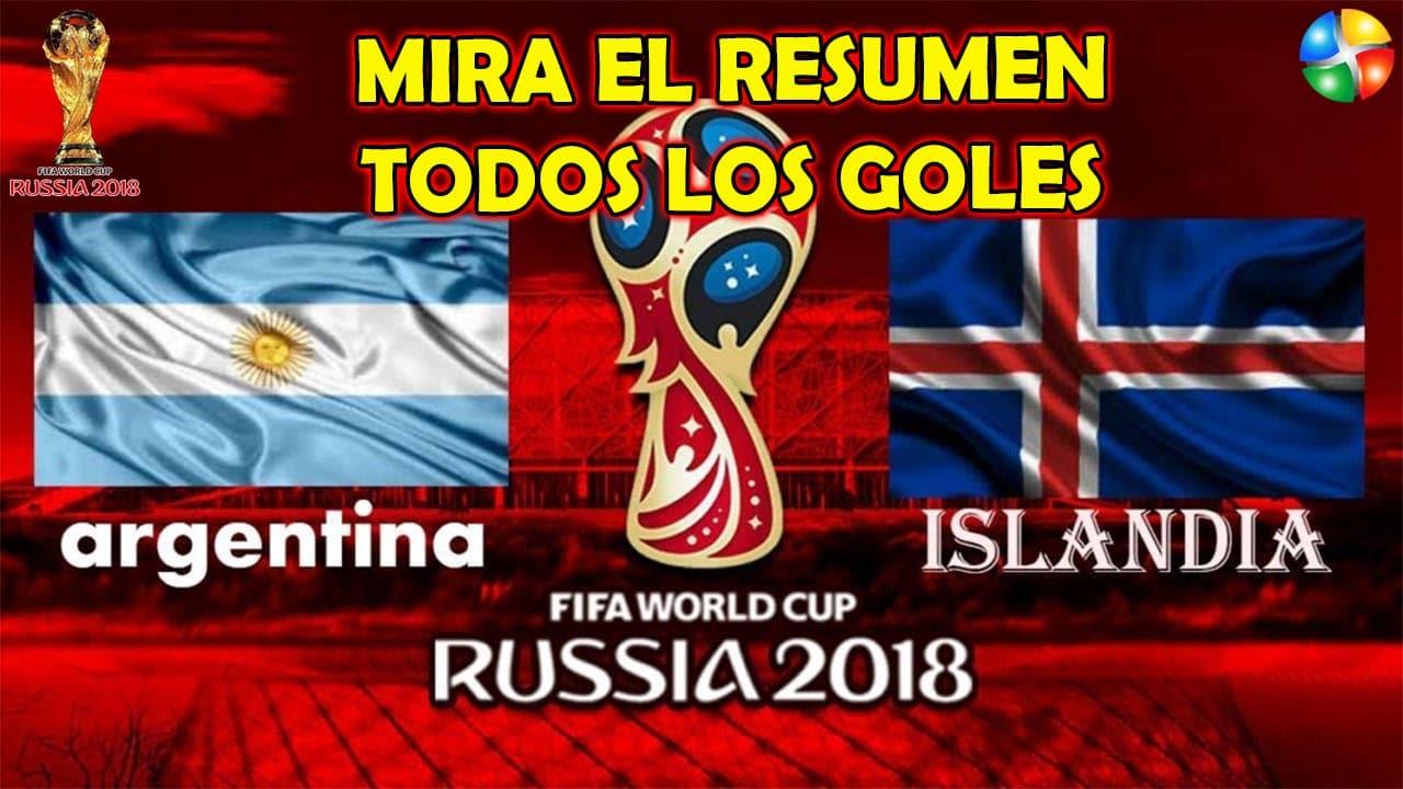 RESUMEN PERU VS ISLANDIA