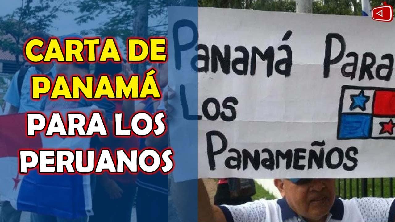 CARTA DE PANAMA PARA LOS PERUANOS, VENEZOLANOS CAMBIANDO LA CULTURA PERUANA