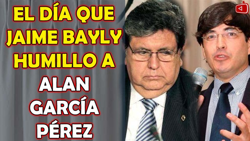 El Día que Jaime Bayly Humillo a Alan García Pérez, El Día que Jaime Bayly se Burla de Alan
