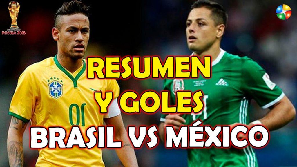 RESUMEN BRASIL VS MEXICO