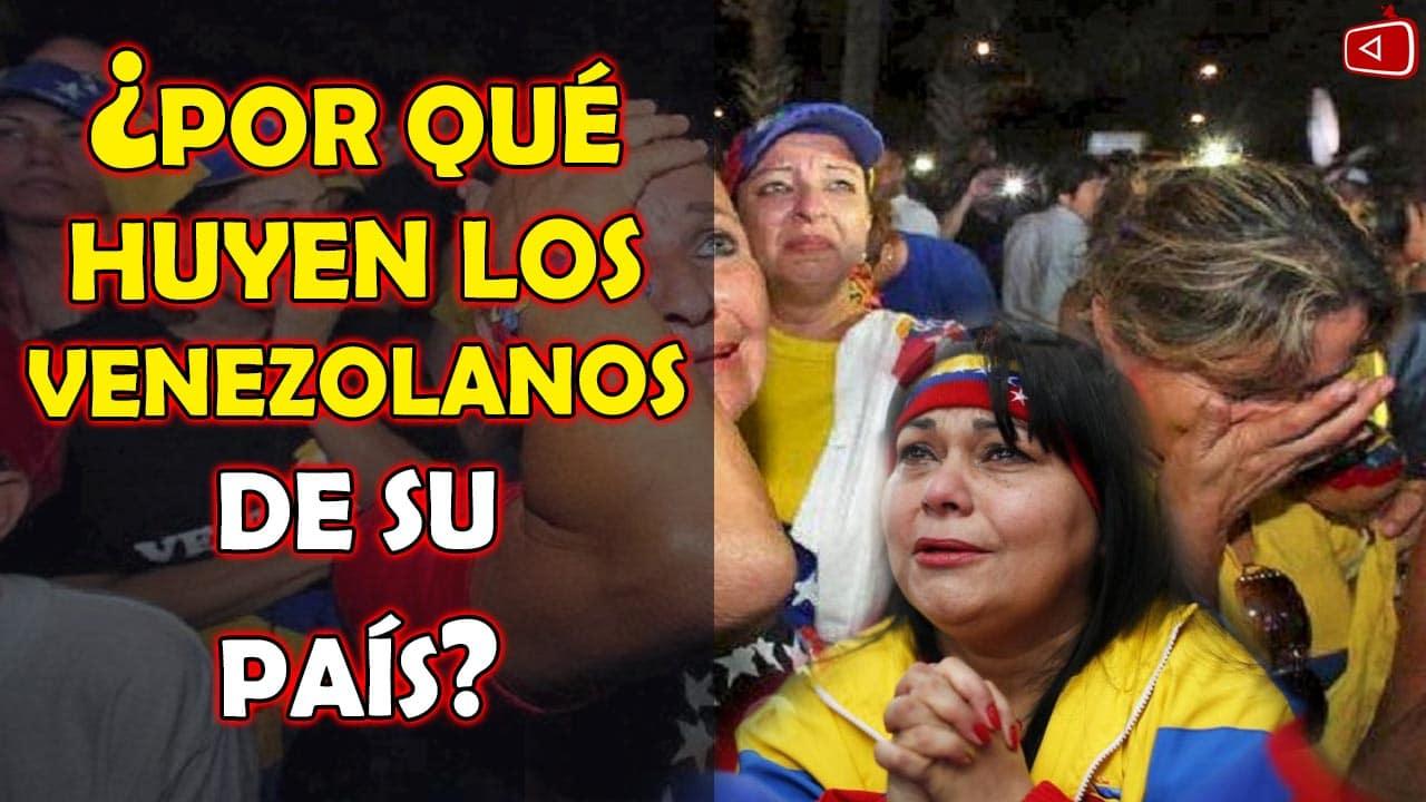 PORQUE HUYEN LOS VENEZOLANOS DE SU PAIS TRISTES HISTORIAS DE VENEZOLANOS