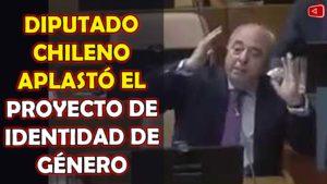 NOTICIAS HOY DIPUTADO CHILENO APLASTÓ EL PROYECTO DE IDENTIDAD DE GÉNERO