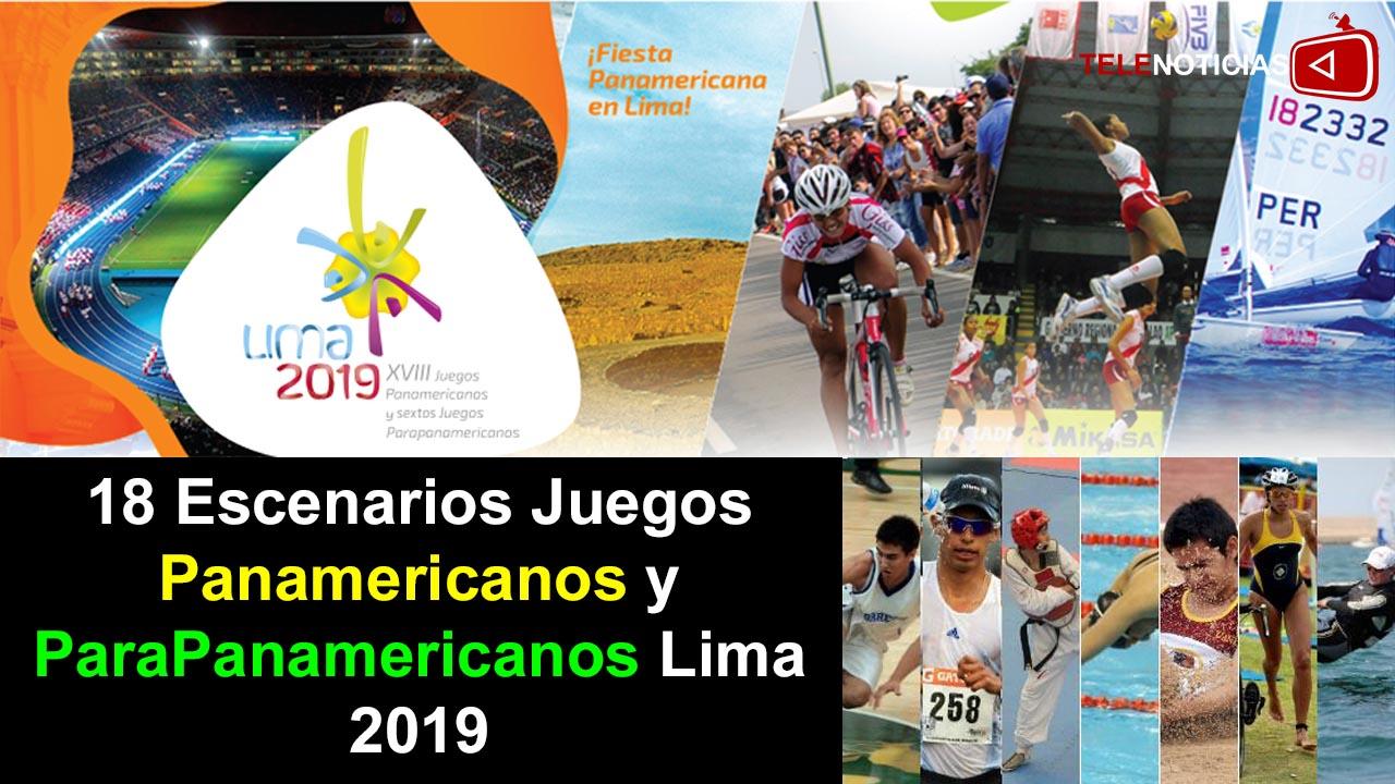 Conozca los 18 Escenarios Deportivos Sedes de los Juegos Panamericanos y ParaPanamericanos Lima 2019