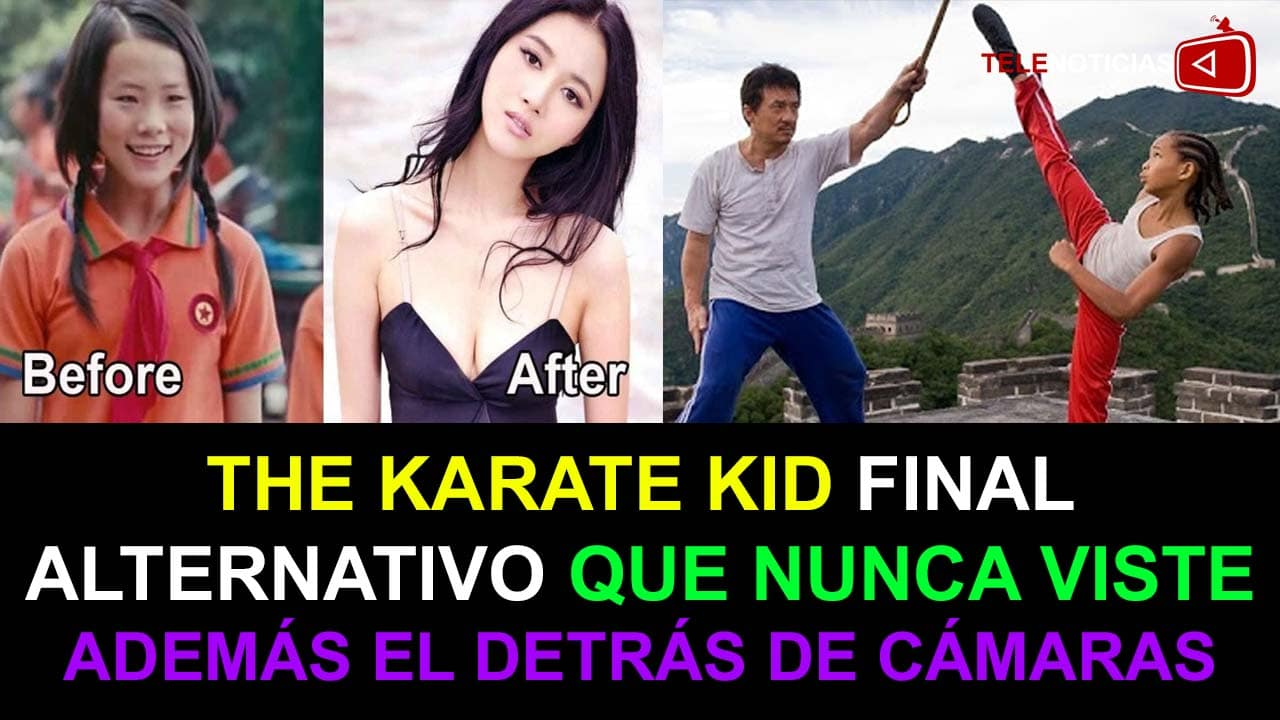 THE KARATE KID FINAL ALTERNATIVO SUBTITULADO AL ESPAÑOL FINAL DE KARATE KIT PELEA FINAL QUE NO VISTE