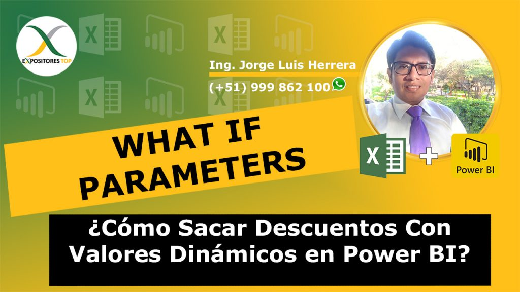 Cómo Sacar Descuentos Con Valores Dinámicos en Power BI Usando What If Parameters con Power BI