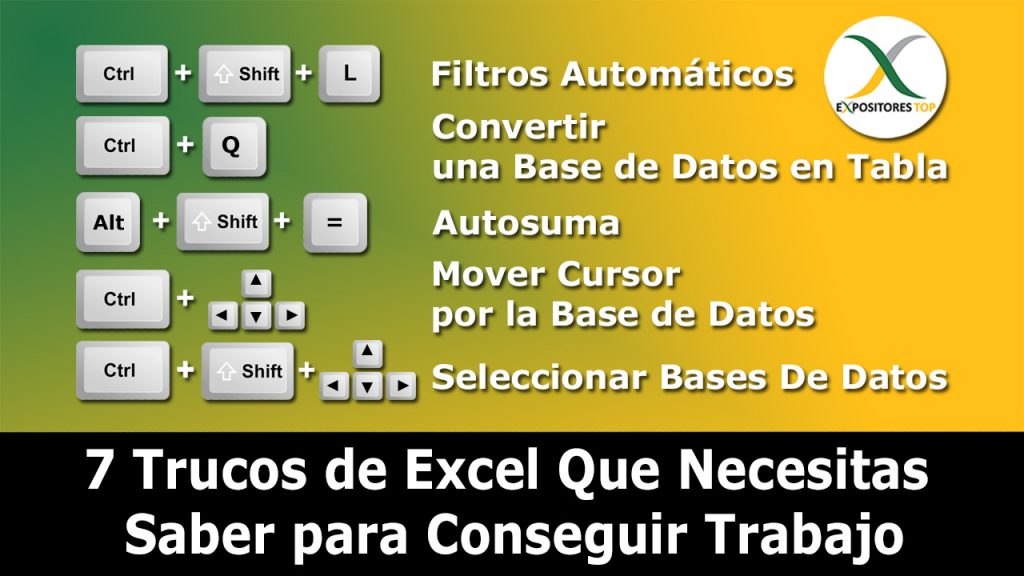 7 Trucos de Excel Que Necesitas para Conseguir Trabajo