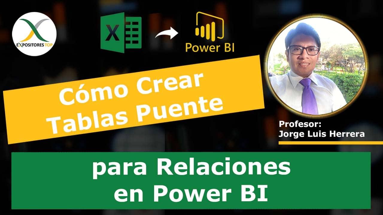 Cómo Crear Tablas Puente para Relaciones en Power BI
